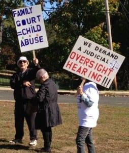 Protest Photo of Grandparents 10-21-13